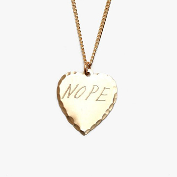 In God We Trust Nope Necklace