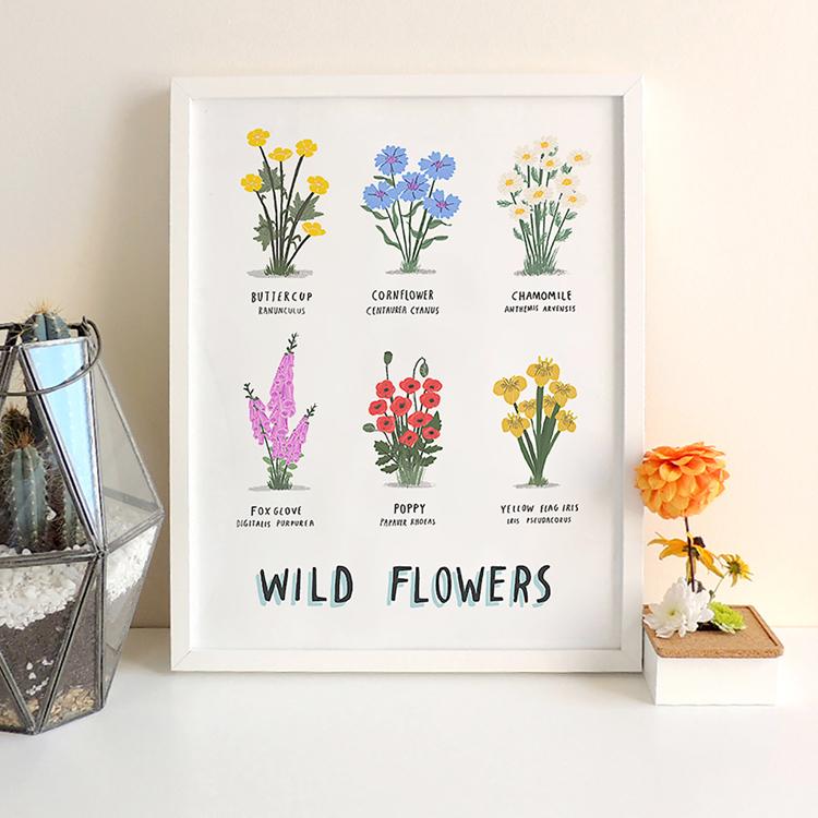 Wild Flowers print Framed.jpg