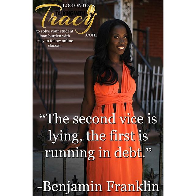 👌🏾 #TalkingWithTracy #LINKinBIO • #EMAIL: tgibson209@aol.com w ANY questions! • #protip #tips #debt #debtfree #studentloan #college #students #lifeisgood #advice #help #ideas #protip #daily #finance #love #businessmgmt #traffic #usa #motivation #inspire #brooklyn #manhattan #nyc #NJ