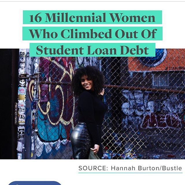 Good morning! Check out my feature in Bustle.com and learn tips from me and 15 other millennial women on how we escaped student loan debt! Link in bio. 🎉 🎉 🎉 #TalkingWithTracy #unity #success #succeed #together #education #freedom #freedomofthought #expressyourself #lifecoach #live #laugh #free #protip #advice #help #ideas #daily #love #usa #motivation #inspire #motivate #brooklyn #manhattan #nyc #worldwide
