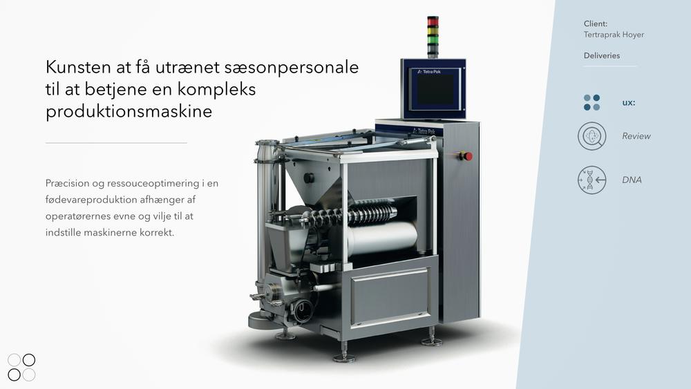 Sikker og intuitiv betjening af maskiner i produktionsmiljøer
