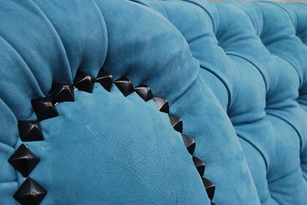ORVETT for DIESEL - CHESTER SOFÀ, blue leather