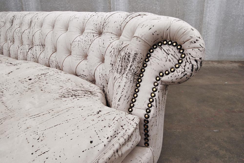 ORVETT for DIESEL - CHESTER SOFÀ, Pietra leather