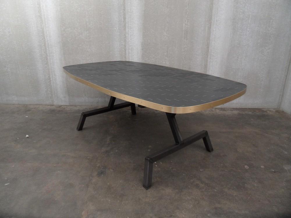 ORVETT for DIESEL -EVOLUZIONE TABLE, herringbone pattern