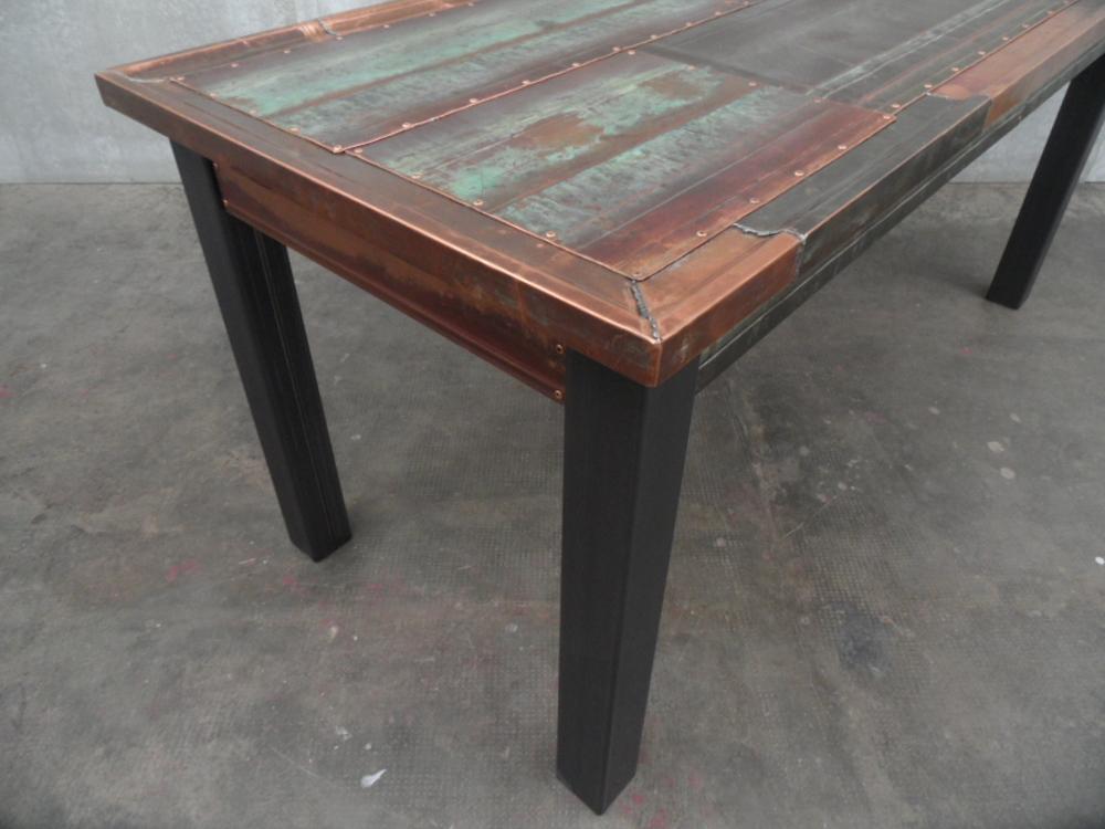 ORVETT for DIESEL - GRONDAIA TABLE, copper