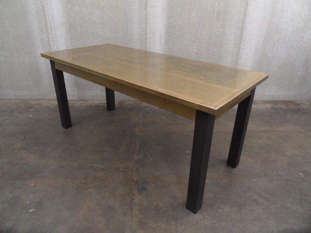 ORVETT for DIESEL - GRONDAIA TABLE, brass