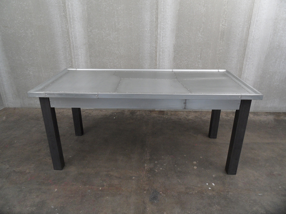 ORVETT for DIESEL - GRONDAIA TABLE, zinc