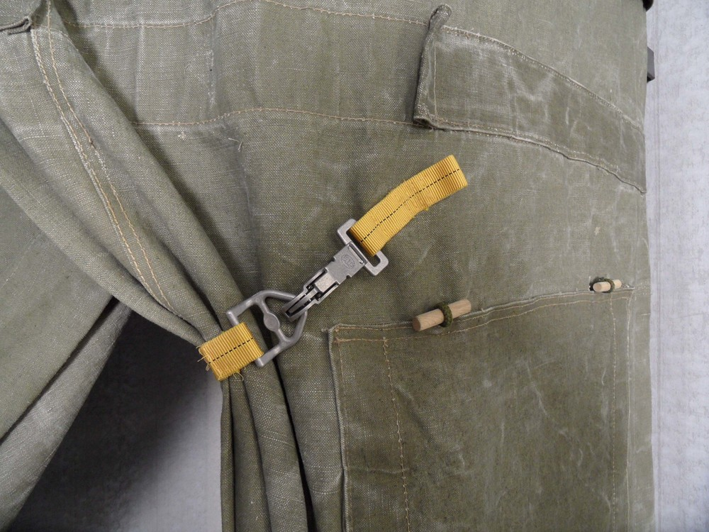 ORVETT for PARAJUMPERS - FITTING ROOM, military fabric, detail
