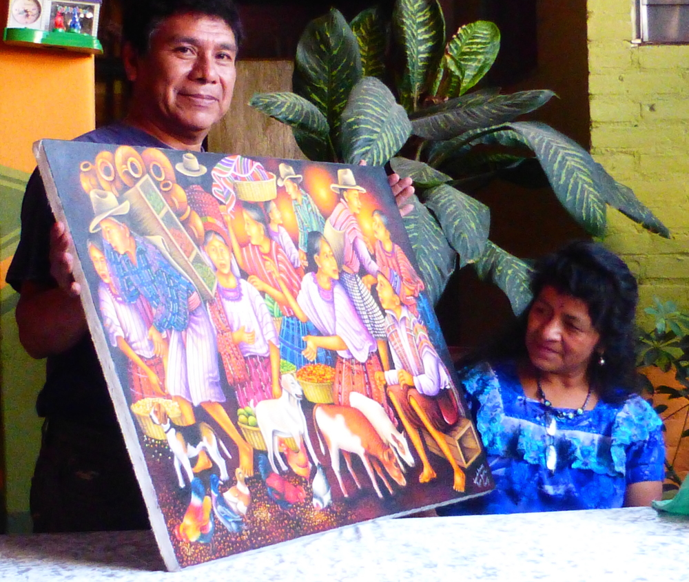 Mariano Gonzales Chavajay, Walter's Mentor