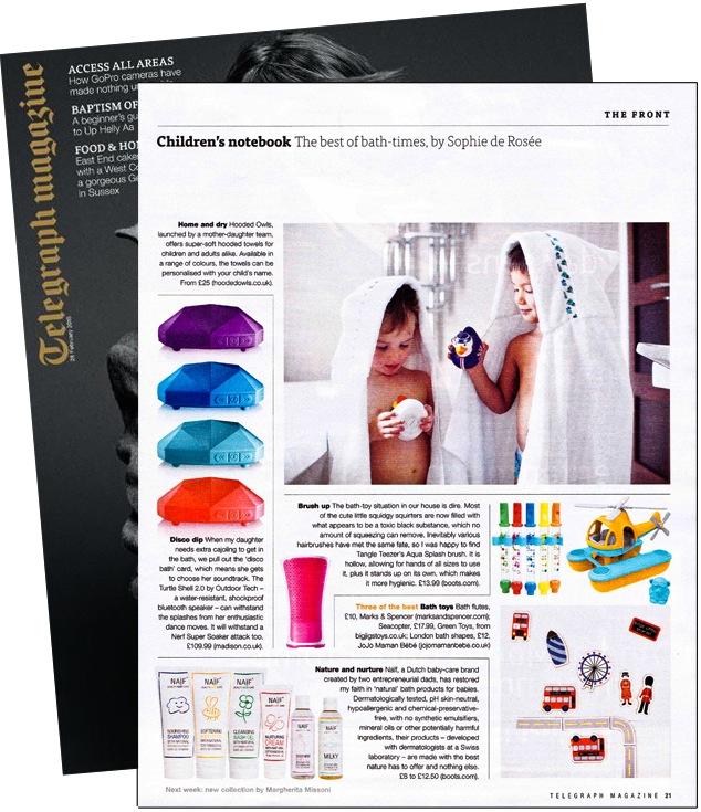 "Telegraph Magazine ""Best of bath-time"" (28 Feb 2015)"