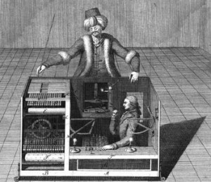 Mechanical Turk: good old days of chess.