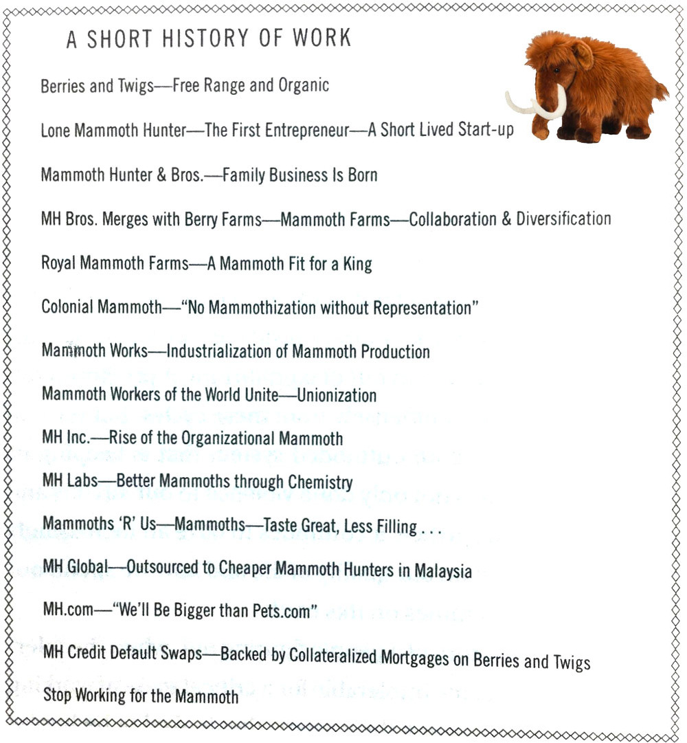 A Short History of Work (Source: The Rise of the Naked Economy).