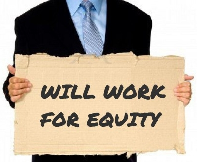 Sweat equity is entrepreneurial labor!