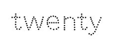 Twenty-Logo