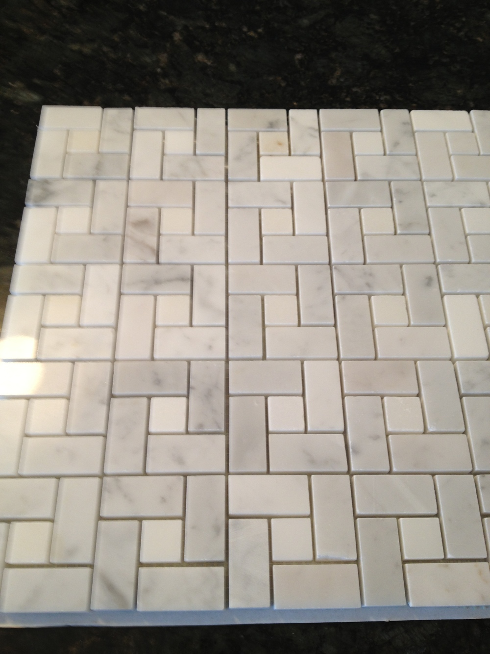 Small Scale Marble Floor Tiles