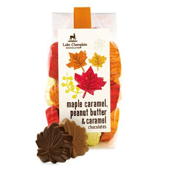 Assorted Chocolate Leaves from Lake Champlain Chocolates, $20.00 for 15 pieces