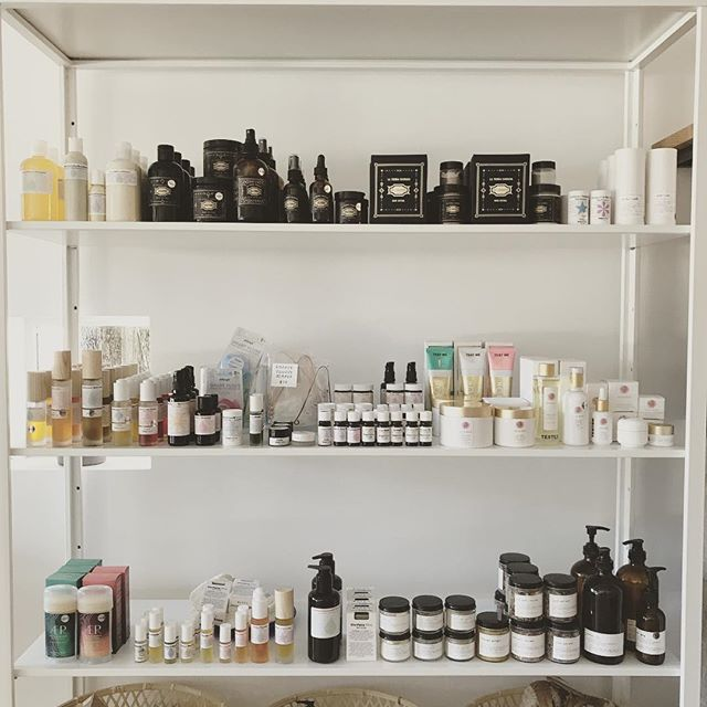 Our self care section is restocked with so many wonderful and nourishing natural products made by some amazing people. Come on in and try these out to find the potion that's just right for you 🌝 #cremedelacreme #organic #essentialoils #spaday #naturaloralcare #organicskincare #suncare #organichaircare #selfcare #nourish #sisterstyle #bywomenforwomen #womenowned
