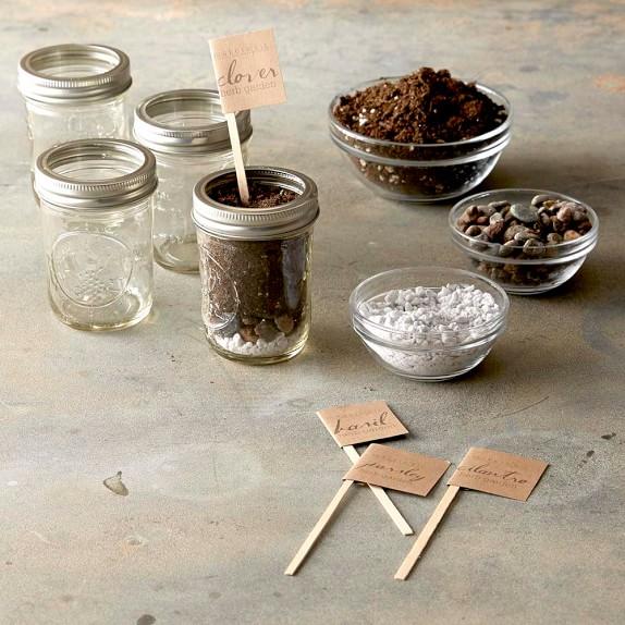 DIY Herb Garden Kit from Williams Sonoma