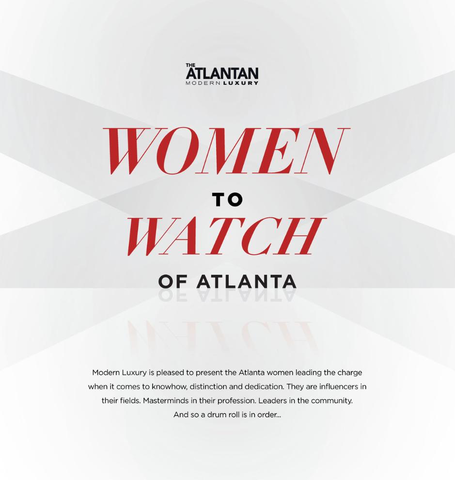 See Christine in the Atlantan Magazine