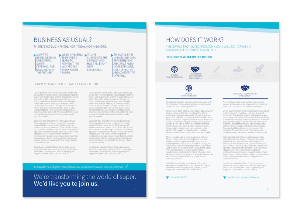Mercer Corporate Design Brochure Annual Report