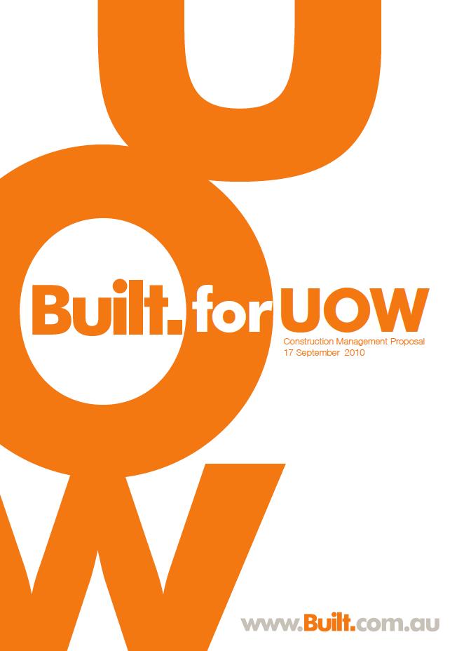 Built Corporate Design Brochure Annual Report