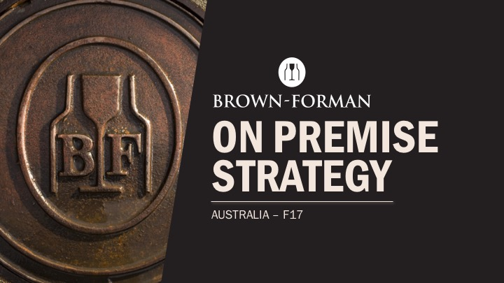 Brown Forman PowerPoint Presentation Graphic Design