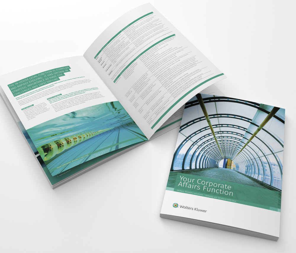Wolters Kluwer Corporate Design Brochure Annual Report