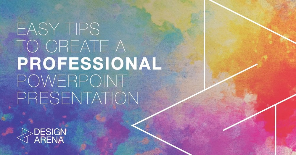 easy tips to create a professional powerpoint presentation design