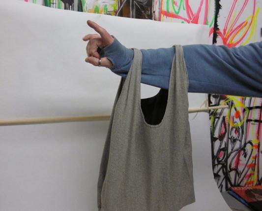 bag shoot at the studio