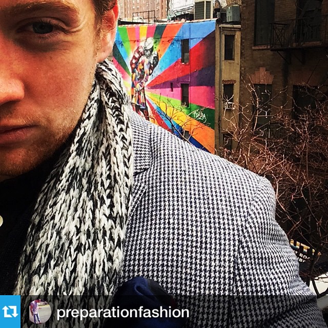 Our very own @francismaxwelltyt seems to be having fun in New York.  #mensfashion #newyork #mensstyle #chelsea