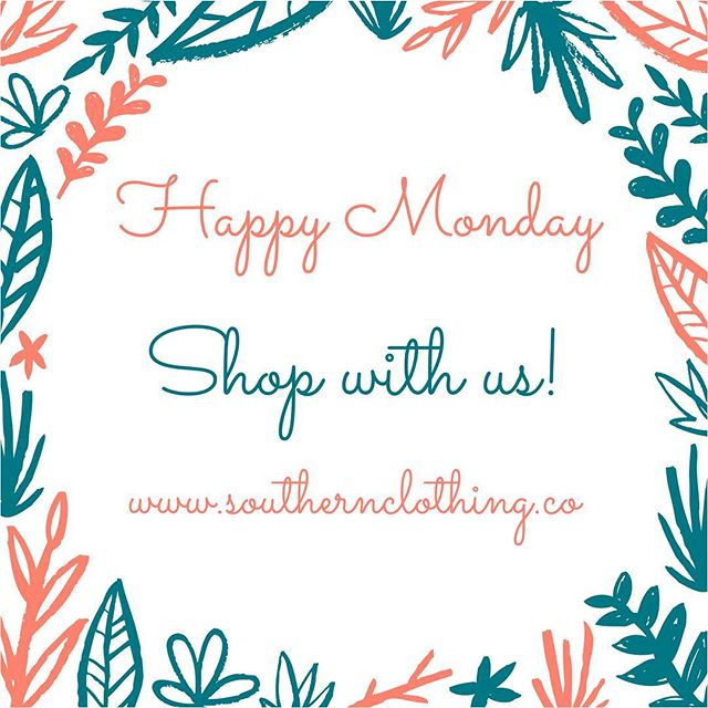 Happy Monday!  Get your next Monday outfit with us!  Click the link in our Bio! 🛍Shop here -  www.southernclothing.co . . . . . . #boutique #boutiqueshopping #southern #southernbelle #jewelry #shopping #southerncharm #fashion #womensfashion #summerfashion #texas #gameday #collegefootball #southcarolina #florida #arkansas #georgia #tennessee #rolltide #auburn #kentucky #olemiss #state #msu #hailstate #secfootball  #hottytoddy #beautiful #instastyle #styleinspo