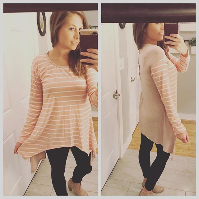 Trendy and Comfy!? What more could a girl want!? We love this striped tunic!  Size shown is Small.  Fits true to size.  Click the link in our bio! 🛍Shop here -  www.southernclothing.co . . . . . . #boutique #boutiqueshopping #southern #southernbelle #jewelry #shopping #southerncharm #fashion #womensfashion #summerfashion #texas #gameday #collegefootball #southcarolina #florida #arkansas #georgia #tennessee #rolltide #auburn #kentucky #olemiss #state #msu #hailstate #secfootball  #hottytoddy #beautiful #instastyle #styleinspo