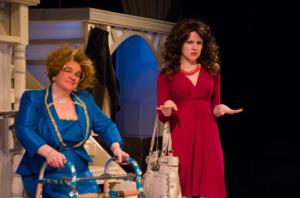 Gilda (Melissa Himmelreich Nicholson), Rosy (Kathryn Miller)