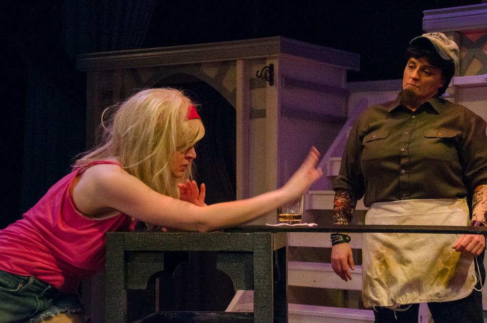 Barfly (Kathryn Miller), Bartender (Melissa Himmelreich Nicholson)