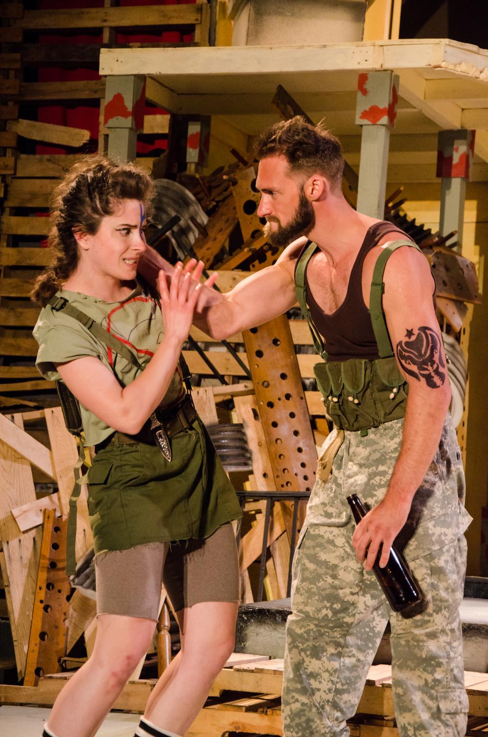 Thersites (Hannah Gold), Achilles (Ian Potter)