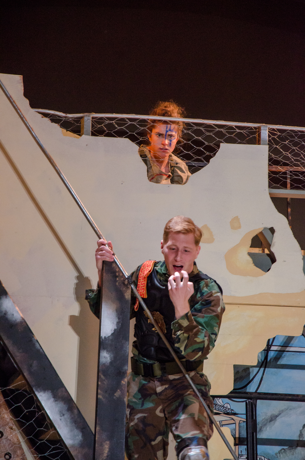 Thersites (Hannah Gold), Troilus (Jared Calhoun)