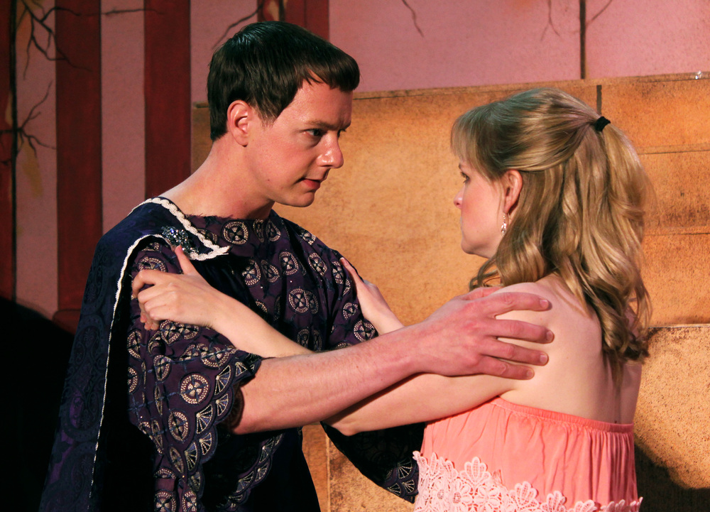 Octavius (Jeff Luttermoser), Octavia (Kathryn Miller)