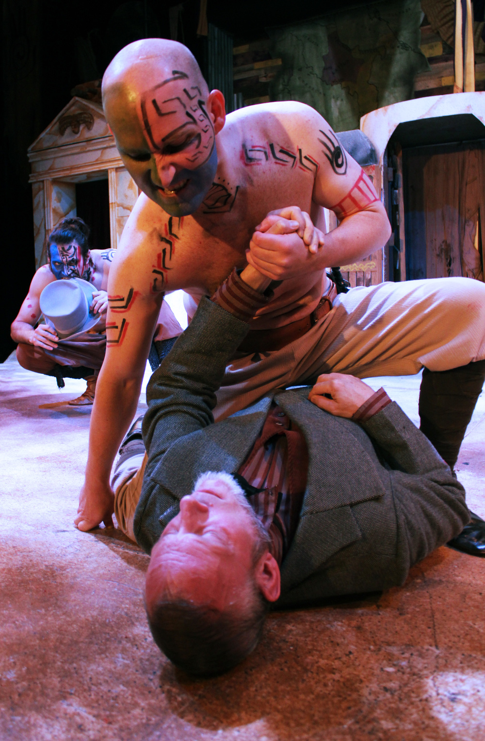 Volsce (Ben Koontz), Volsce (Toby Bradbury),Menenius (Philip Wheeler)