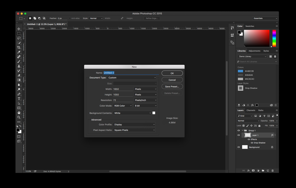 how do i make a pdf file smaller in photoshop