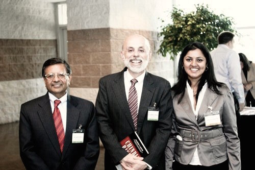 Prof. Jagdish Sheth (Left); Dr. Lawrence Spinelli (Middle)