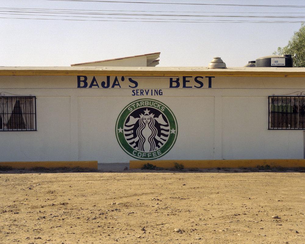 Starbuck's,Baja California Sur, Mexico
