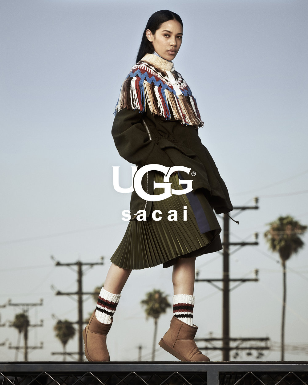 STYLING by Stacy Zimmerman for UGG x Sacai