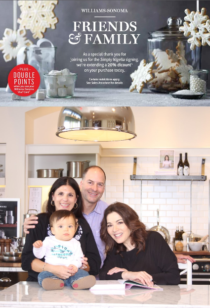 Nigella Lawson & Williams-Sonoma
