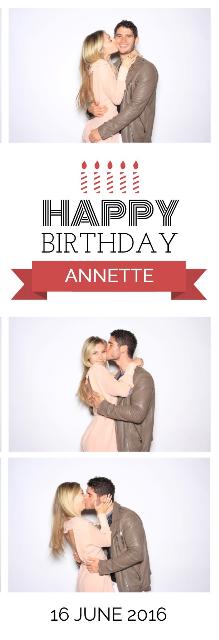 Annette's BDay