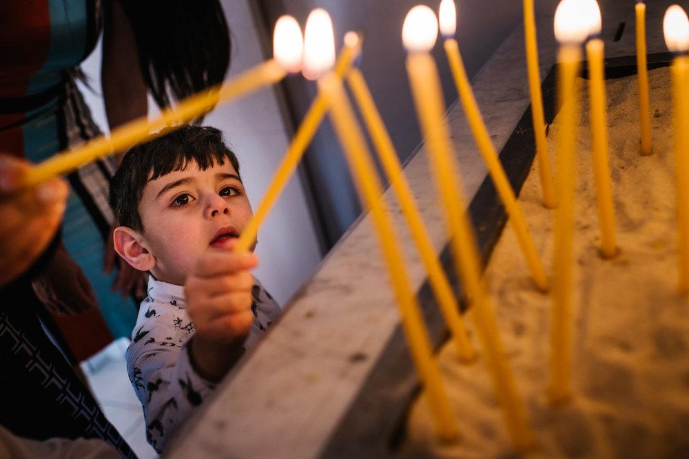 Orthodox christening Lidcombe Sydney