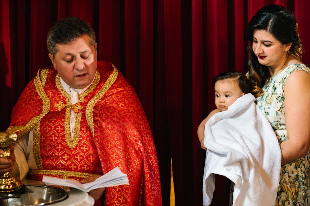 Christening in Lidcombe Sydney