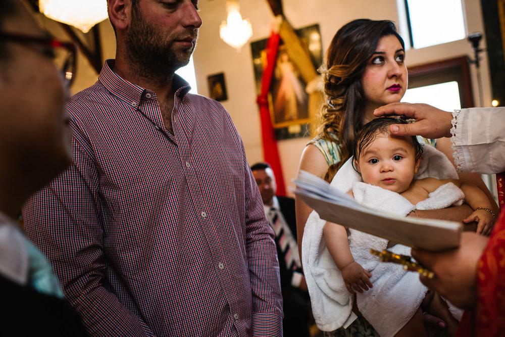 Armenian orthodox christening Sydney