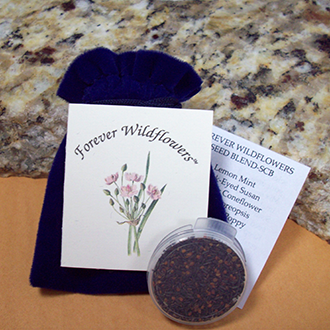 Memorial Seed Pouch with hang tag