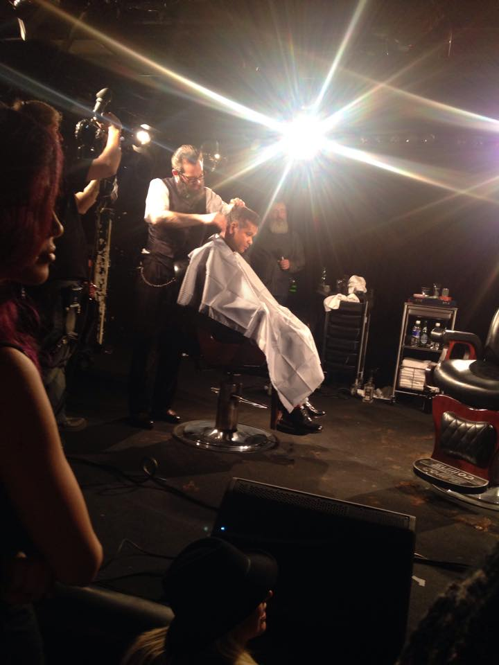 Some action shots of these amazing old school barbers demo-ing their love for their craft of art !