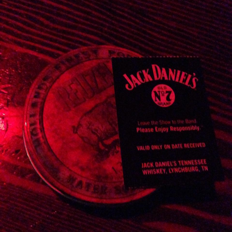 Right as we enter the venue, they provided us with a shot of JackDaniels whiskey + holland's finest pomade #reuzel !